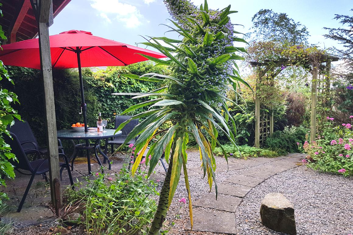 Doyle's Cottage Warren Farm Cottages Private Garden