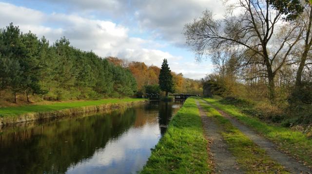 St Mullins Canal Walk near Warren Farm