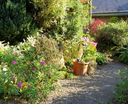 Cottage Garden, Warren Farm Cottages Wexford