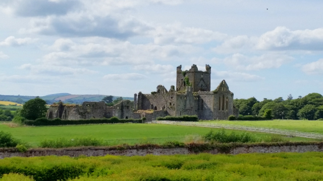 Dunbrody Abbey near Warren Farm Guest Cottages