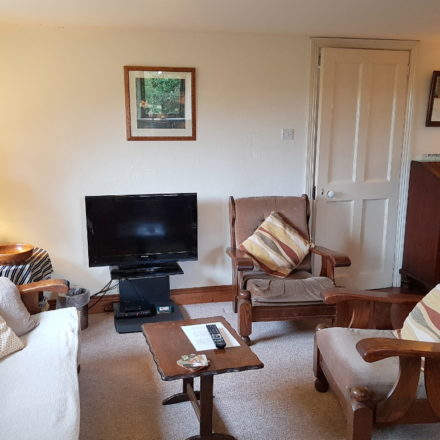 Lounge of Granary Cottage Warren Farm Ireland