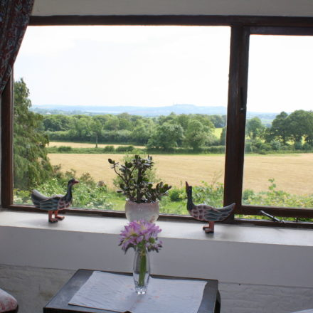 Granary self-catering cottage country views