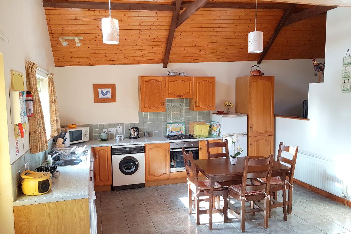 Horseshoe Kitchen Diner Warren Farm Irish Cottages