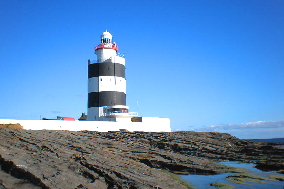 Hook Lighthouse near Warren Farm Ireland